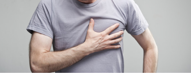 chest pain after quitting smoking